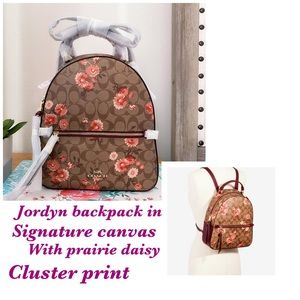 COACH JORDYN BACKPACK IN SIGNATURE CANVAS